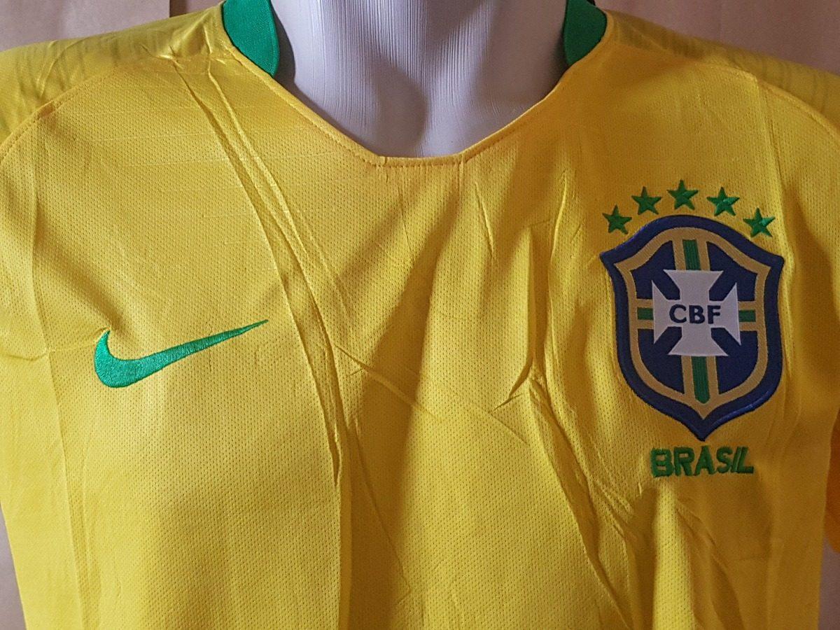 nova camisa seleção brasileira oficial copa 2018 promoção. Carregando zoom. 0d43dae1d15bc
