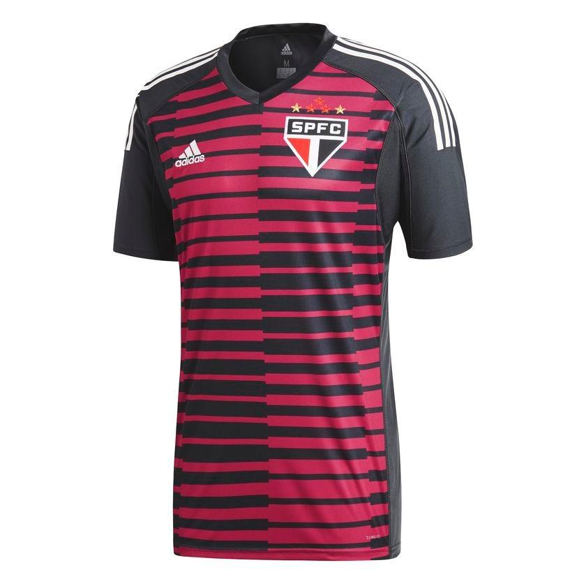 f9618f0c1fc nova camisa são paulo goleiro oficial 18 19 - frete grátis! Carregando zoom.