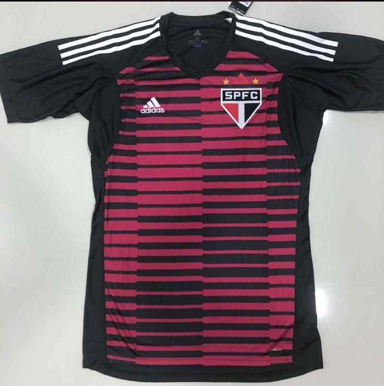 3fb4d412d4d Nova Camisa São Paulo Goleiro Oficial 18 19 - Frete Grátis! - R  149 ...