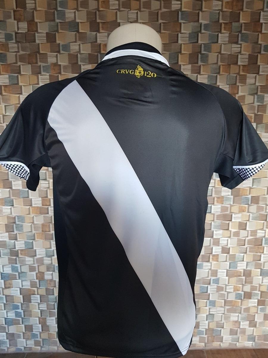 04de4a340a Nova Camisa Vasco Preta 2018 Super Promoção - R  58