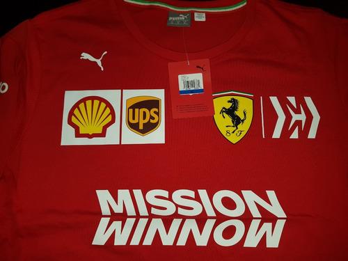 nova camiseta funcional scuderia ferrari f1 team 2019