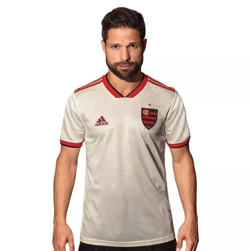 nova camiseta oficial flamengo 2018 19 amarela super promoç. Carregando zoom . 3d389e223705d
