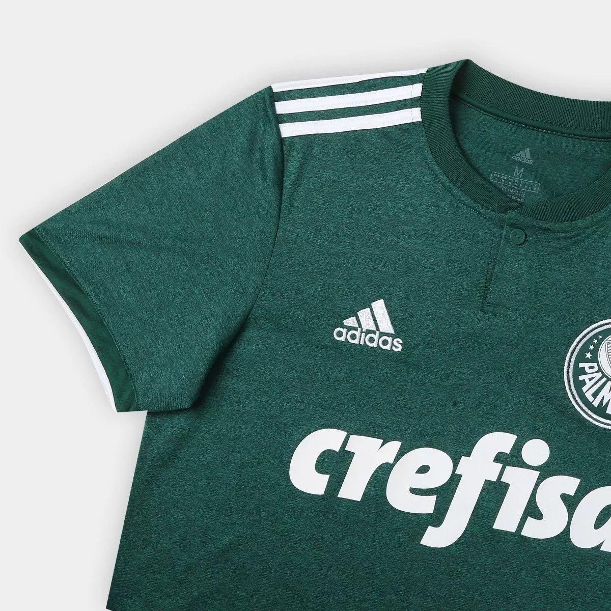 nova camiseta oficial palmeiras 2018 19 adidas super promoçã. Carregando  zoom. fa7ec6e76994a