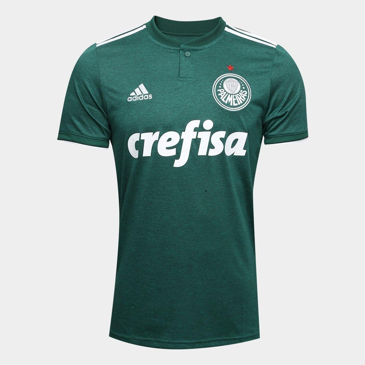 nova camiseta oficial palmeiras 2018 19 original promoção. Carregando zoom. de4e278689e76