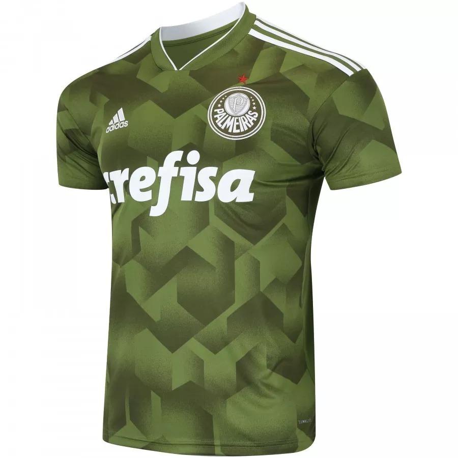 ... e52c28090aa nova camiseta oficial palmeiras adidas super promoção  clube. Carregando zoom. caa8f79c364 Camisa de Treino ... ca7a6243bdb3b