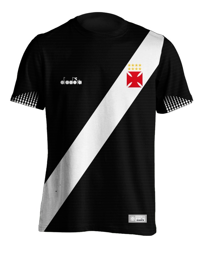 96753276febd5 nova camiseta vasco preta 2018 19 personalizada. Carregando zoom.