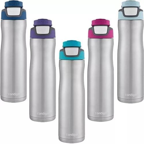 nova garrafa squeeze térmico contigo chill 709ml - 28hrs*