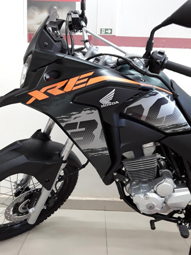 nova honda xre 300 adventure abs - painel digital - full led