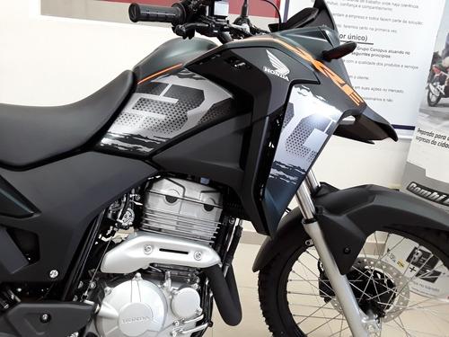 nova honda xre 300 adventure abs - painel digital - full led