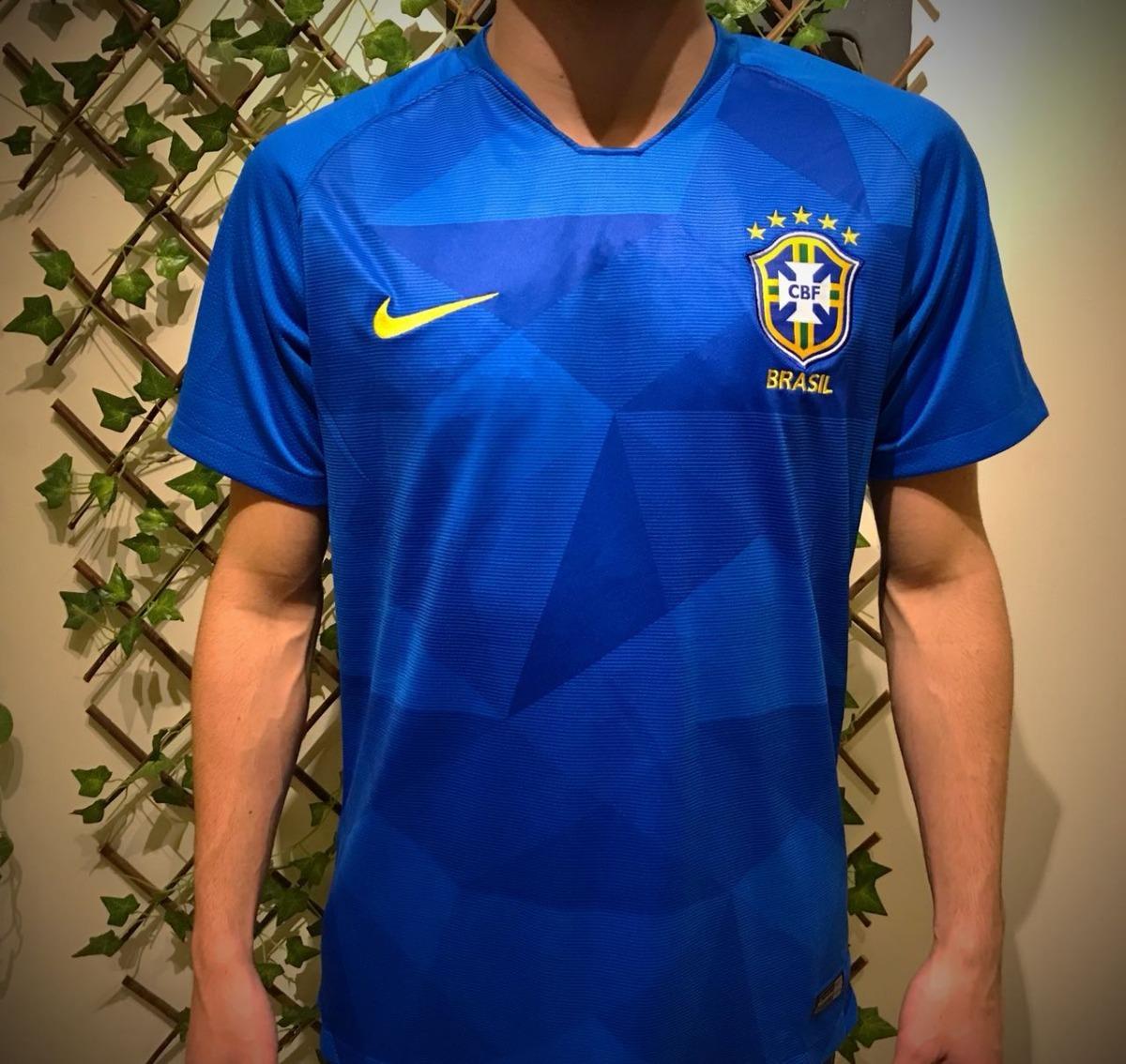 nova il camisa da seleção brasileira brasil mundial 2018. Carregando zoom. 79e3bd0e033e4