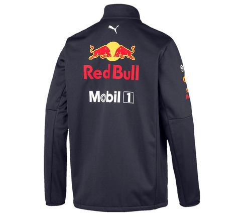 nova jaqueta softshell aston martin red bull racing f1 2019