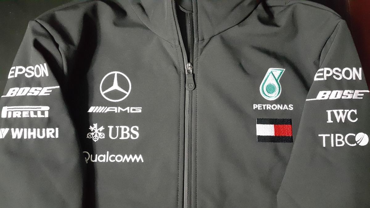a5bcfca8a5 nova jaqueta softshell mercedes amg petronas f1 team 2018. Carregando zoom.
