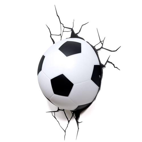 Nova Luminária Bola De Futebol 3d Deco Light Fx Beek - R  94 835854e855a7b