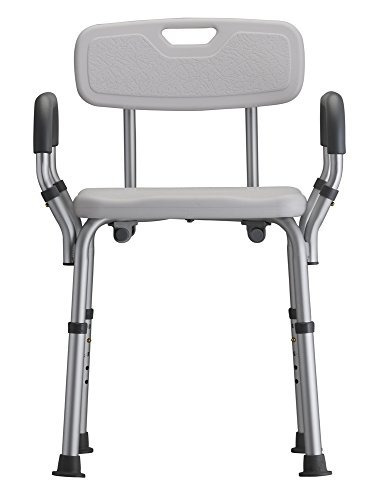 nova medical products  asiento de bano deluxe con respaldo y