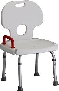 nova medical products banco de baño ajustable de lujo con c
