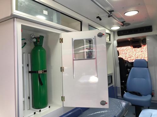 nova mercedes-benz sprinter ambulância uti