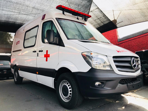 nova mercedes-benz sprinter furgão ambulância uti