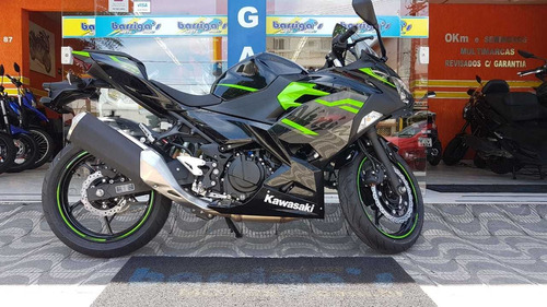 nova ninja 400 abs 0km 2020 metallic spark black