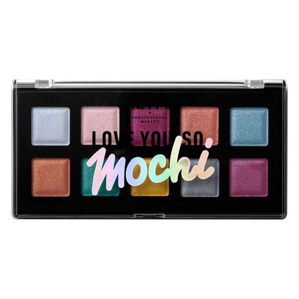 nova paleta sombras nyx love you so mochi electric pastels r 139