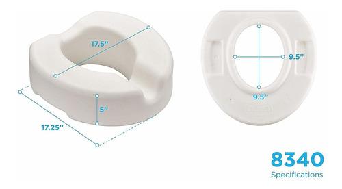 nova productos médicos elevador de asiento de inodoro, 5