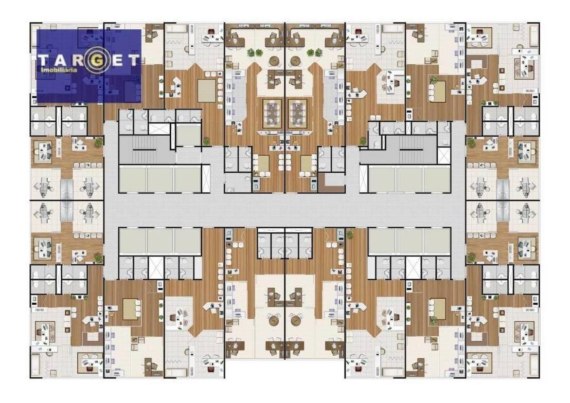 nova sala comercial alphaville - sa0117