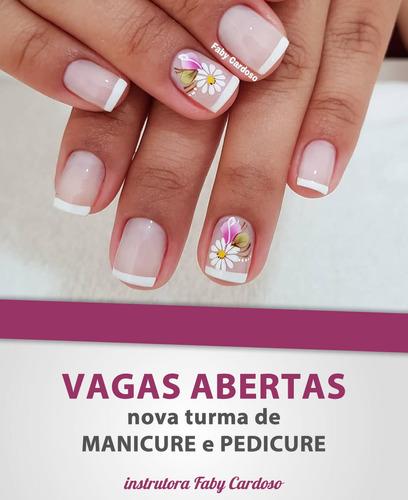 nova turma de manicure e pedicure