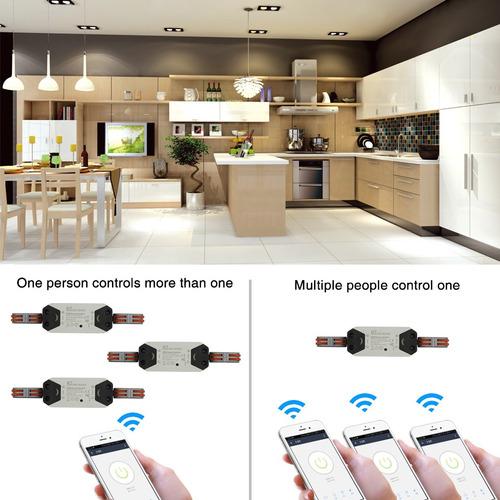 novadigital interruptor wifi automação alexa/google rapid-1