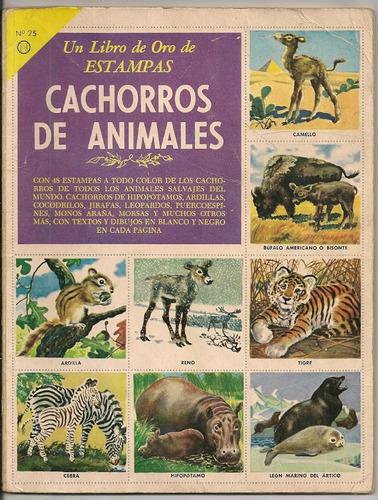 novaro album de cachorros de animales de 1959