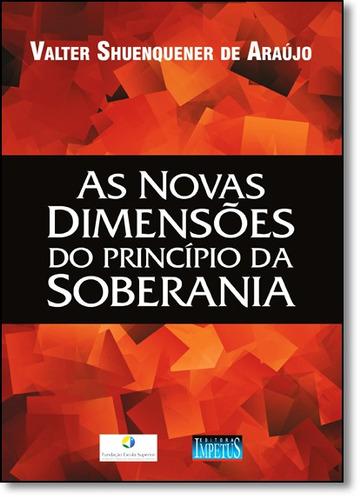 novas dimensões do princípio da soberania, as