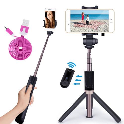 novasat selfie stick/palo para selfies bluetooth
