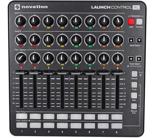 novation launch control xl controlador midi dj ableton live