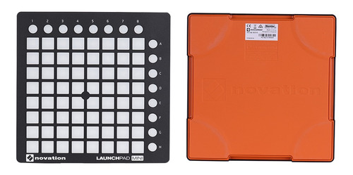 novation launchpad mini - almohadilla para batería (usb, mid