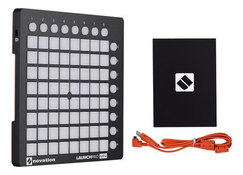 novation launchpad mini - almohadilla para batería (usb, mid