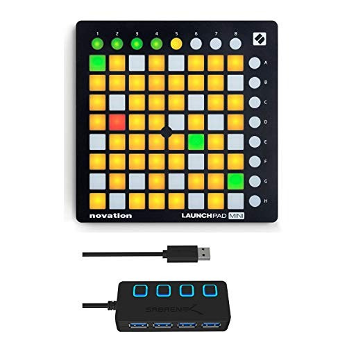 novation launchpad mini mk2 ableton live grid controller wit