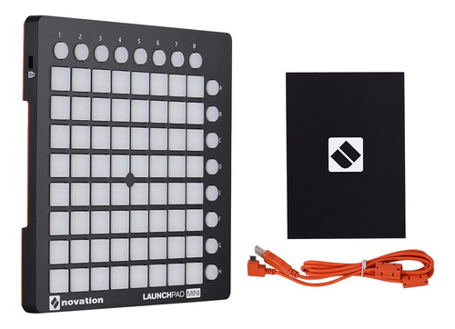 novation launchpad mini ultra-compact usb midi drum pad