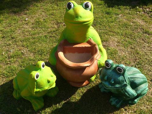 novedad 2013 rana con maceta para realzar tu jardin