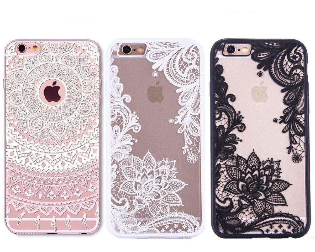 482604d86a1 Novedad! Funda iPhone Mandala Flor Henna Encaje Floral - $ 99.00 en ...