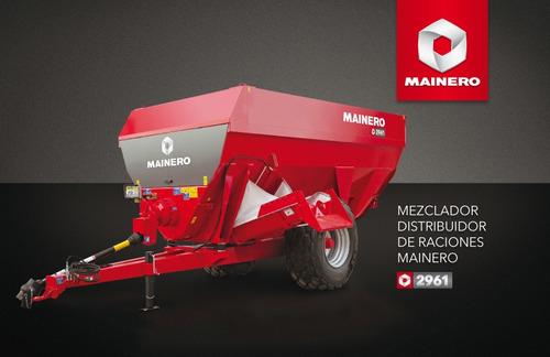 novedad: mixer mainero 2961 16 metros cubicos