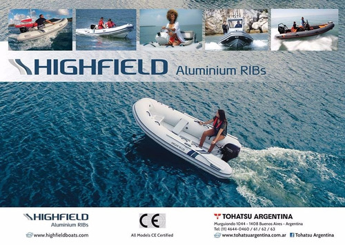 novedad semirrigidos aluminio high field 0hs oferta