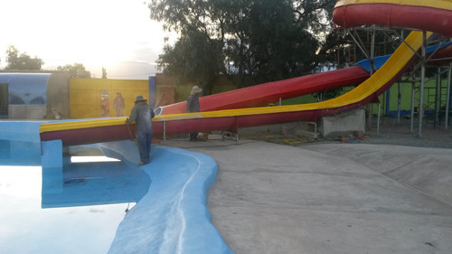 novedos parques infantiles y balnearios de fibra de vidrio