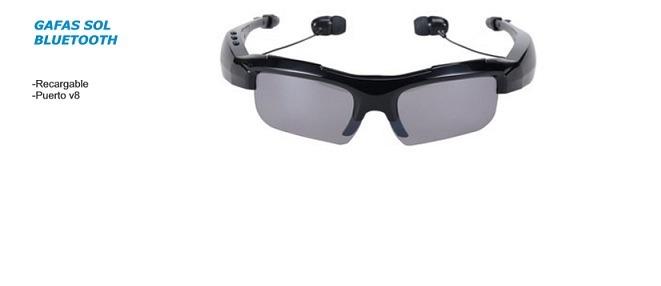 nuevo concepto 6f779 9f9af Novedosas Gafas Sol Bluetooth