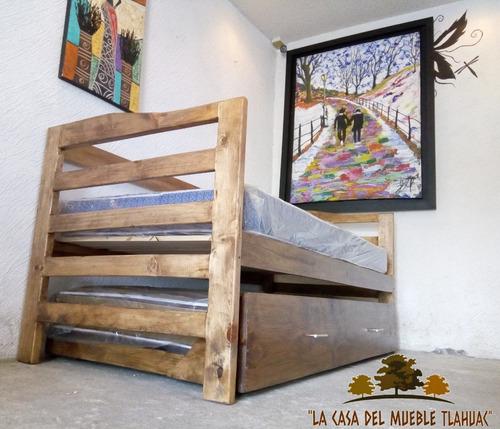 novedoso sofá cama doble individual canguro con colchones