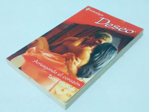 novela - arriesgando el corazón (coleccionables harlequin)