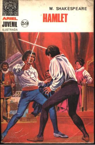 novela comic: hamlet, por william shakespeare -ariel