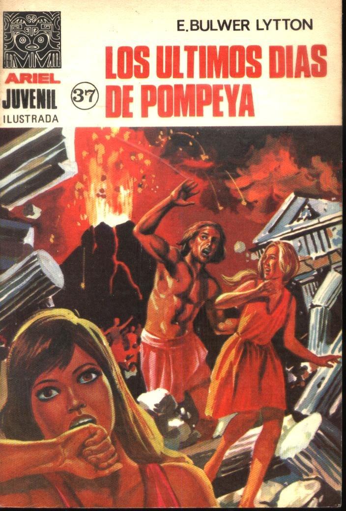 novela comic los ultimos dias de pompeya por On libros sobre pompeya