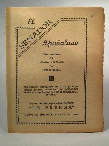 novela de la prensa  el senador apuñalado envío gratis