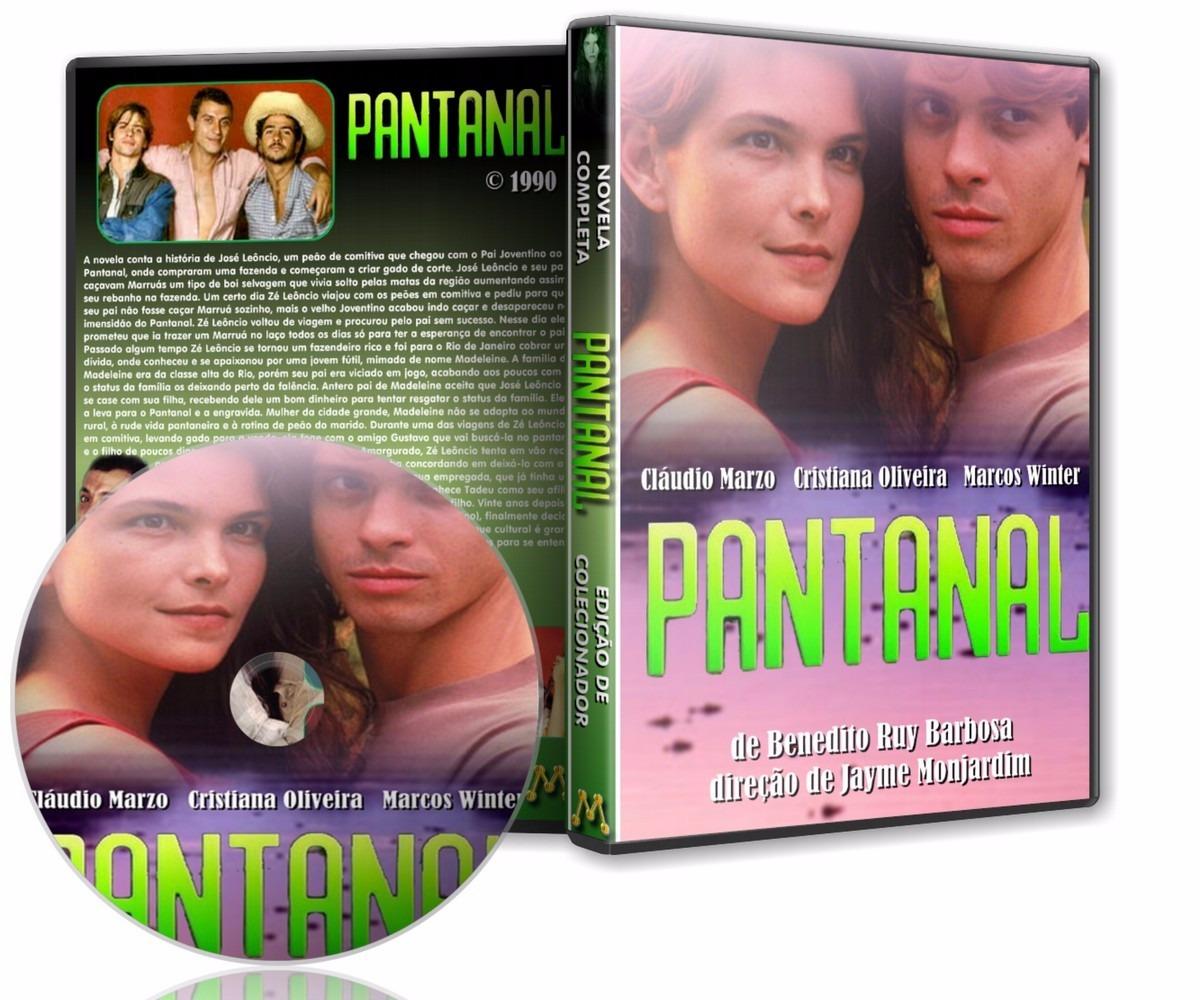 dvd novela pantanal