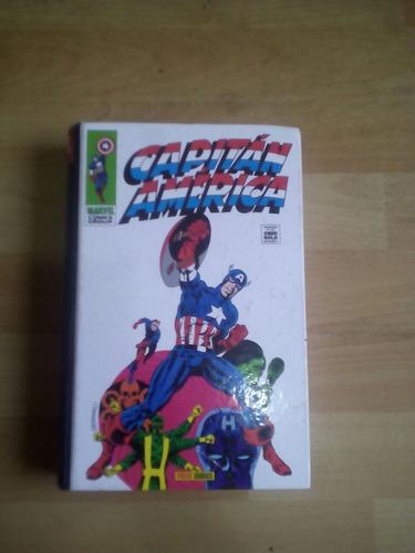 novela gráfica de capitán américa