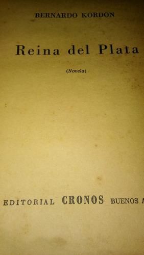 novela la reina del plata. 1946