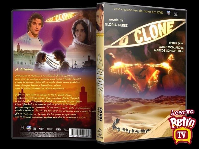 Novela O Clone 94 Dvds Completa + Frete Grátis